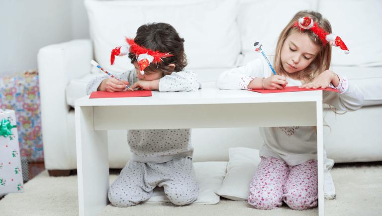 Děti napsat dopis Santa Clausovi