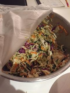Resurrected coleslaw