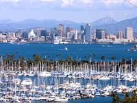 San Diego skyline from Pt64
