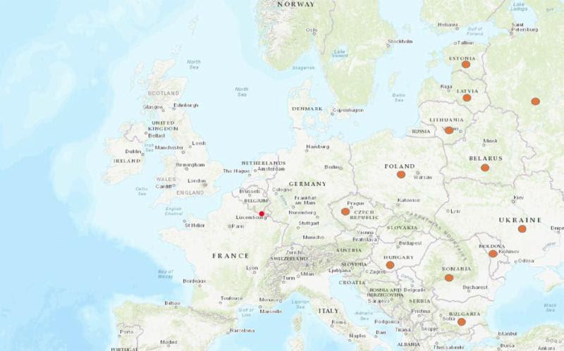 ASF Beglium map 2