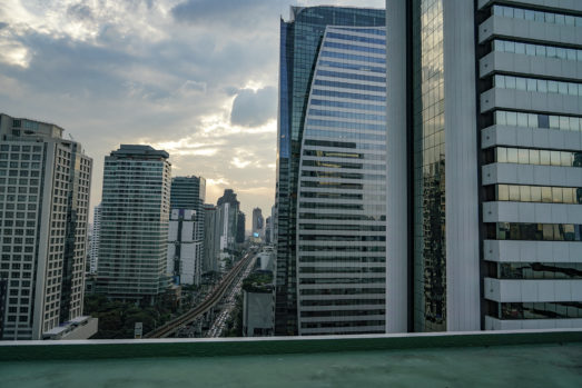 Sathorn Thani buildings as a top filming location in Bangkok for video production