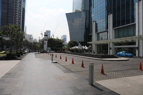 AIA Tower area a location in Thailand for video production