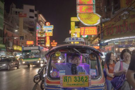 Chinatown street a location in Thailand for video production