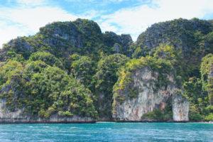 Phuket island cliff