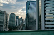 Sathorn Thani Building a location in Thailand for video production