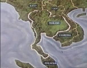 Thiland map