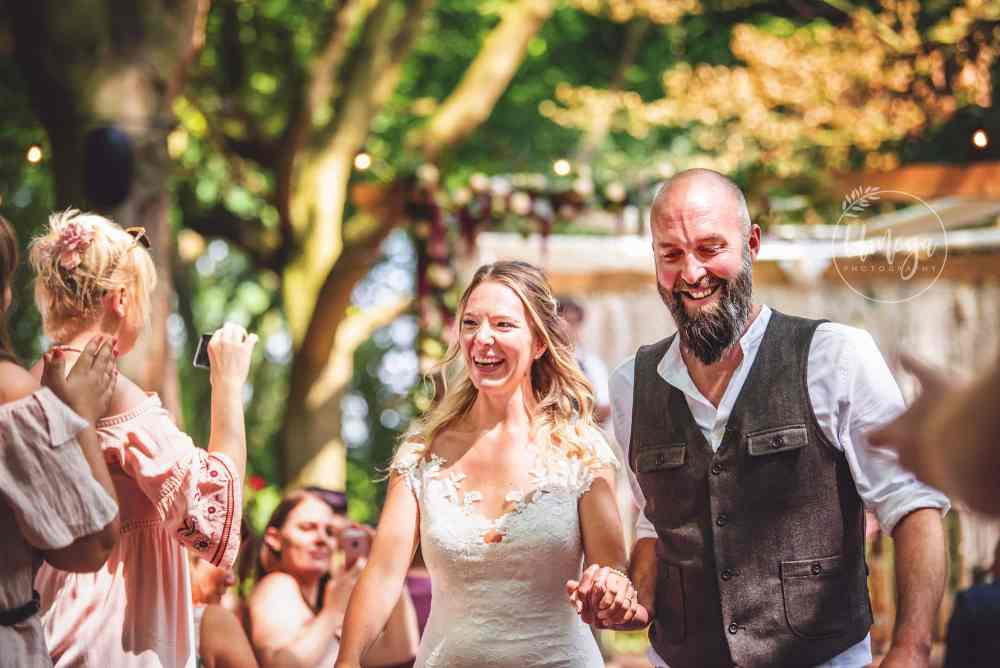 Sussex Wedding Photographer at a forest wedding