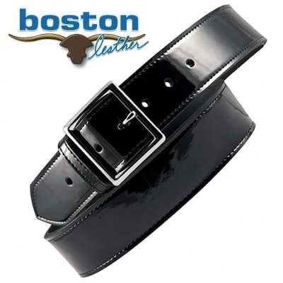 "Boston Leather 1 3/4"" Patent Belt"