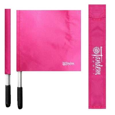 Tandem Sport: Pink Linesman Flag