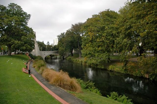 Parques e jardins em Christchurch