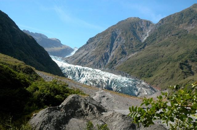Base do Glaciar Franz Josef