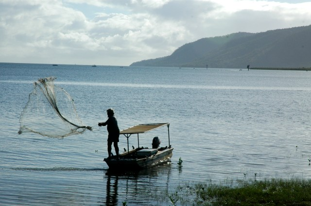 Pesca artesanal em Cairns