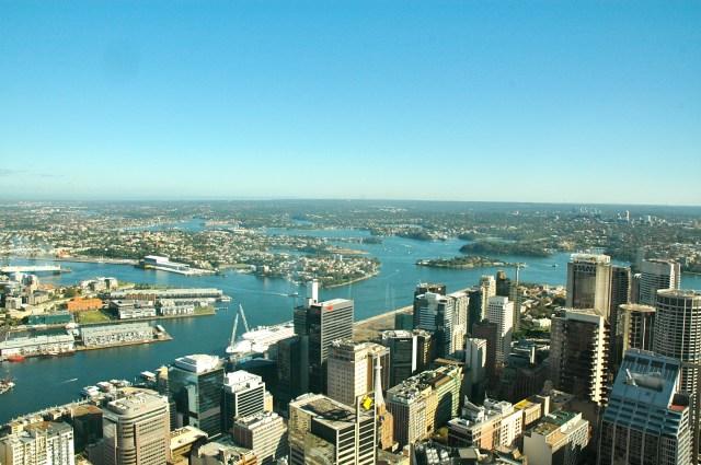 A geografia de Sydney favorece a relação com o mar