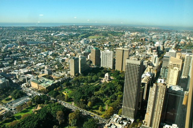 O Hyde Park - Um pulmão verde no centro de Sydney