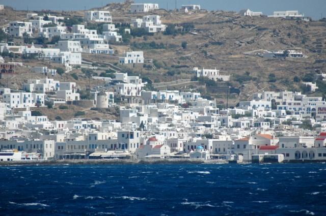 Mikonos, no arquipélago das Ilhas Cíclades
