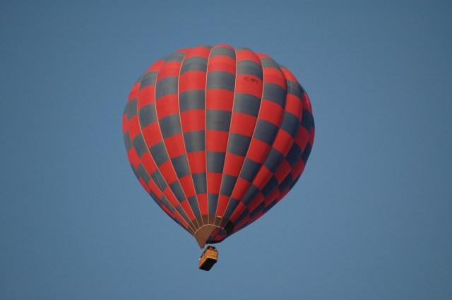 Um passeio de balão na Capadócia