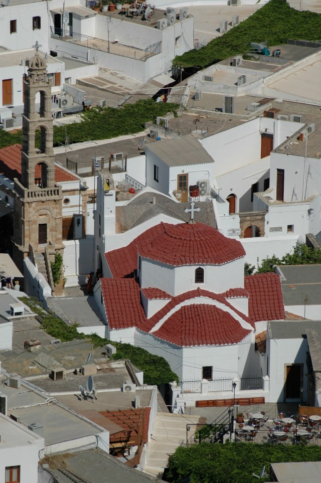 A bela igreja Panagíae
