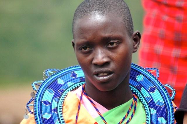 Mulher Masai no Quênia