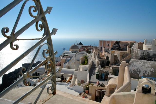 Os labirintos de Santorini