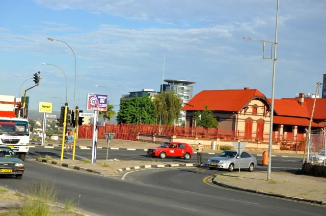 Trânsito organizado em Windhoek