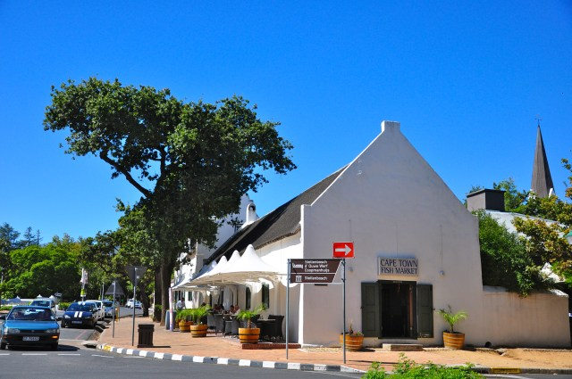 As casas brancas de Stellenbosch