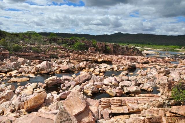 O Rio Paraguaçu quase secou em 2012.
