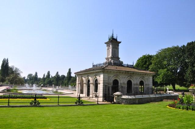 Detalhe do Hyde Park