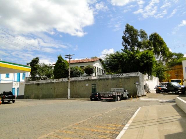 O local da antiga Casa de Farinha da Fazenda Toca da Onça.