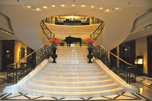 Recepção do Hotel Ritz Carlton de Berlim