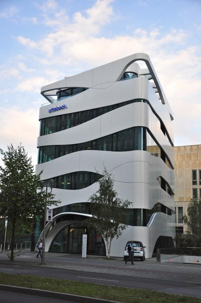 Prédio moderno em Berlim