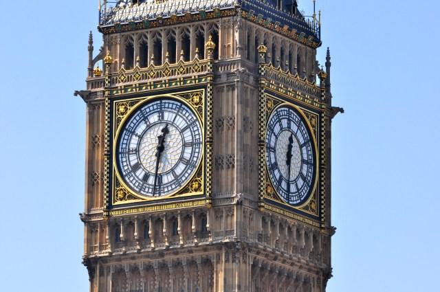 Big Ben é o nome do sino e não do relógio.