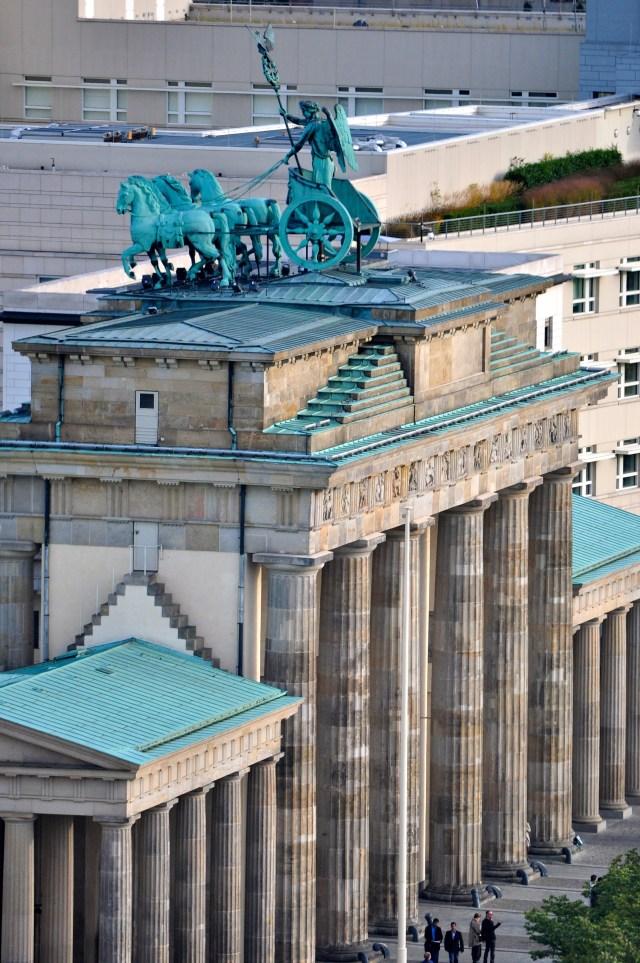 O Portão de Brandemburgo - Símbolo maior de Berlim