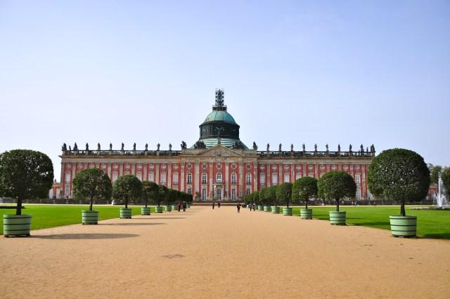 O Palácio Novo de Potsdam