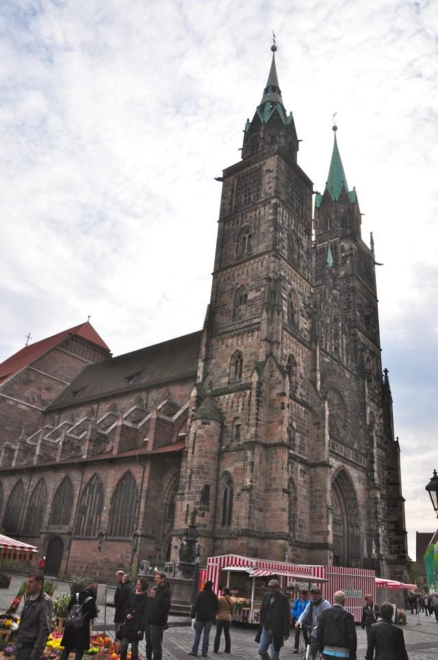 A Igreja de São Lourenço em Nuremberg