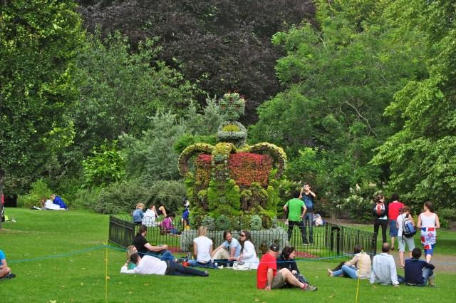 O Parque Saint James