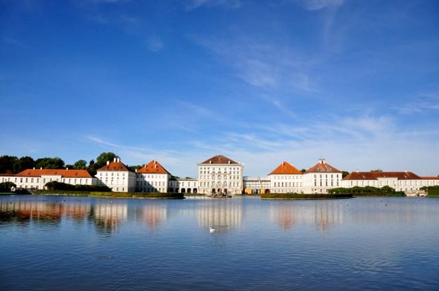 O Castelo Nymphenburg.