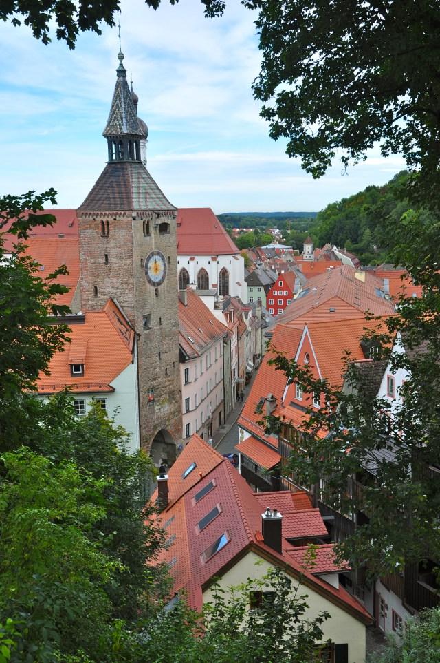 Casarões e Palácios Medievais em Landsberg Am Lech