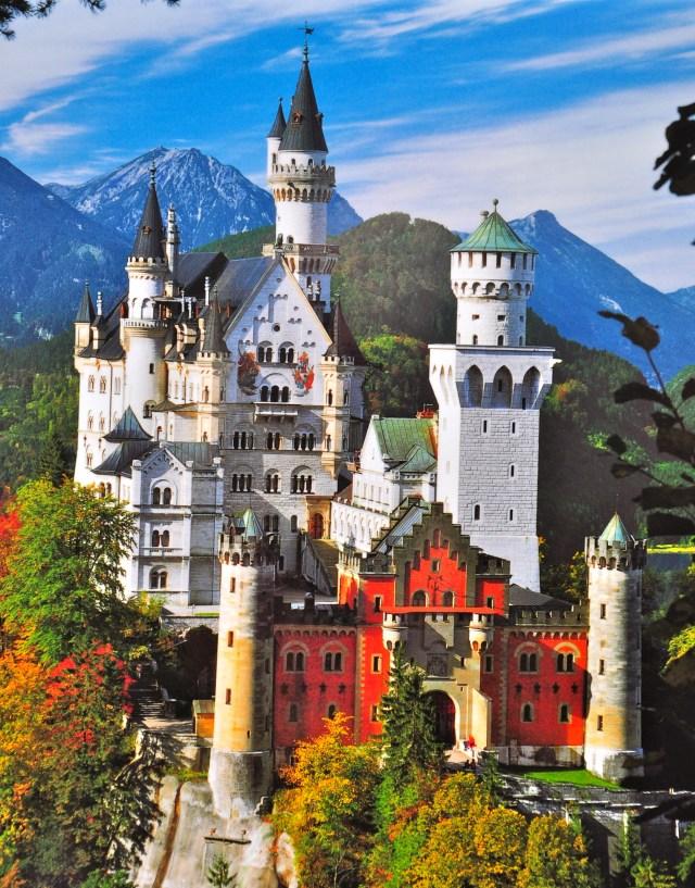 O incrível Castelo de Neuschwastein