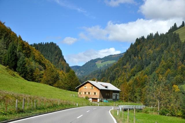 A estrada pela Áustria