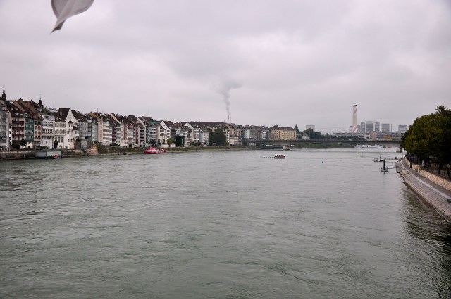 As chaminés atrapalham o horizonte de Basel