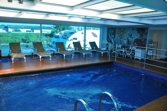 A piscina do SS Antoinette