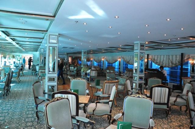 O Lounge do SS Antoinette
