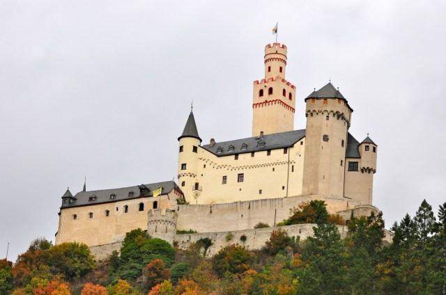O Castelo de Marksburg