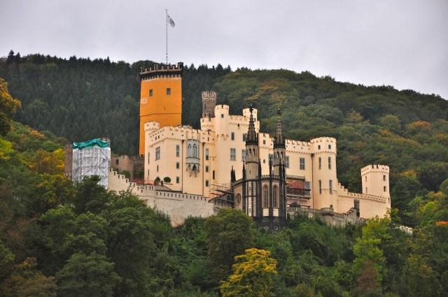 O Castelo de Stolzenfels