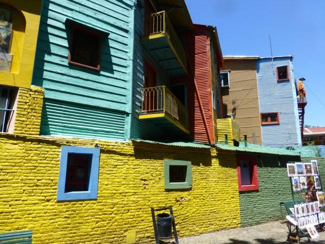 Caminito no bairro de La Boca