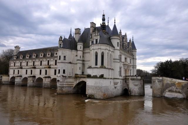 Detalhe do Castelo Chenonceau