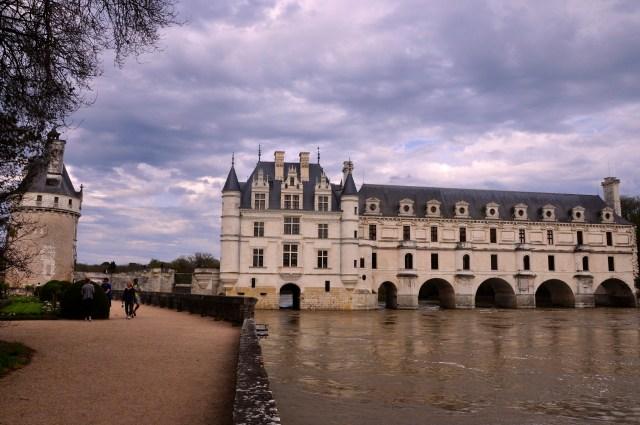 Castelo Chenosceau, um dos que mais atrai visitantes.