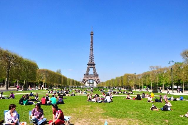 A Torre Eiffel, símbolo maior de Paris