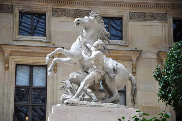 Um dos Cavalos de Marly