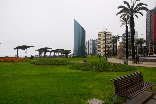 O bairro de Miraflores.